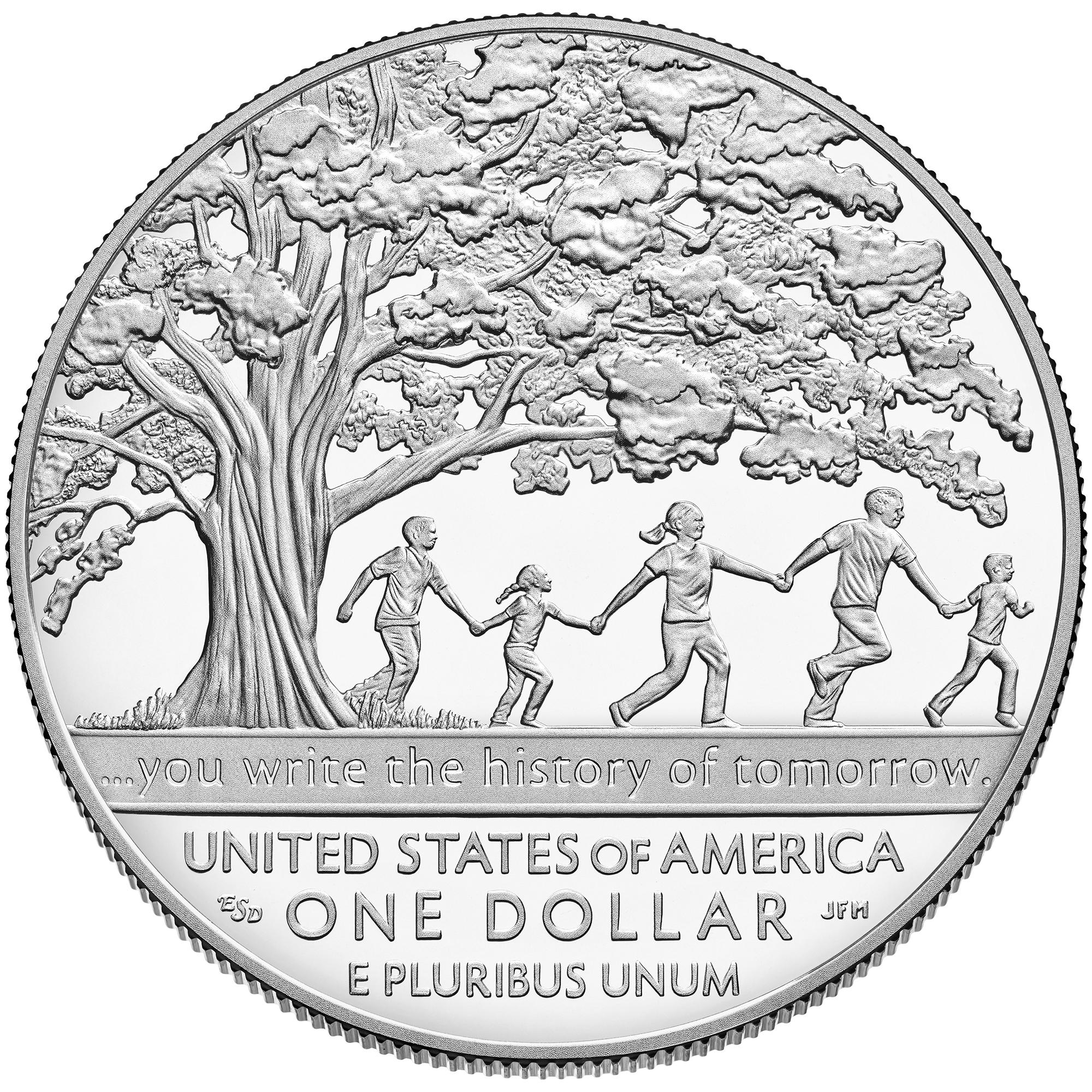 2017 boys town commemorative silver proof reverse