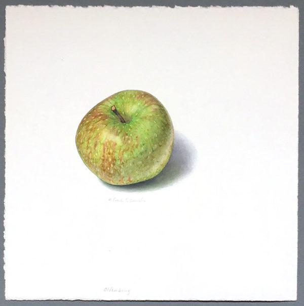 Oldenburg apple art